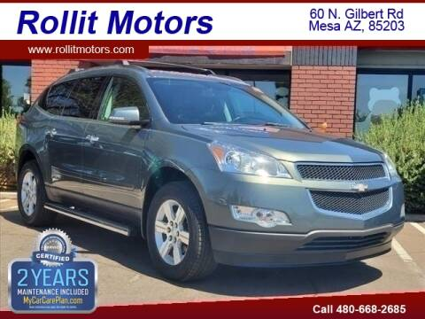 2011 Chevrolet Traverse for sale at Rollit Motors in Mesa AZ