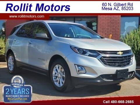 2018 Chevrolet Equinox for sale at Rollit Motors in Mesa AZ