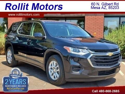 2019 Chevrolet Traverse for sale at Rollit Motors in Mesa AZ