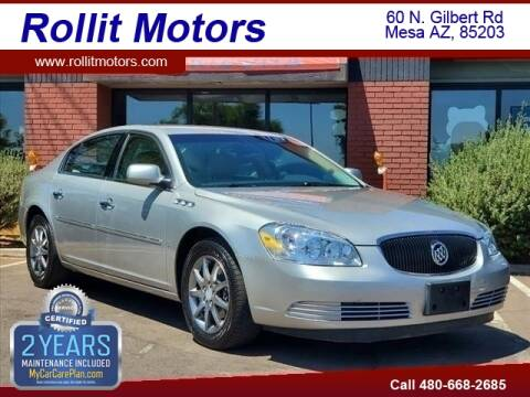 2006 Buick Lucerne for sale at Rollit Motors in Mesa AZ