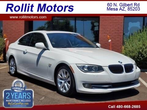 2013 BMW 3 Series for sale at Rollit Motors in Mesa AZ