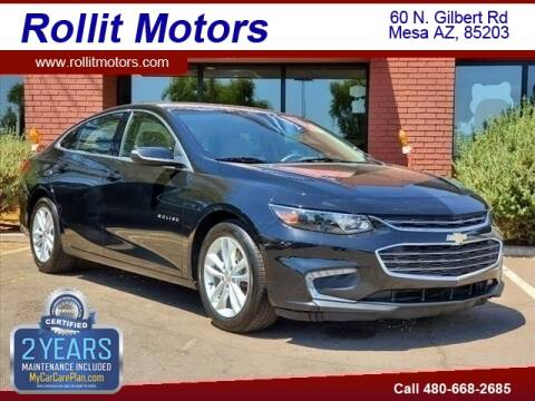 2016 Chevrolet Malibu for sale at Rollit Motors in Mesa AZ