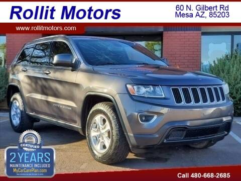 2014 Jeep Grand Cherokee for sale at Rollit Motors in Mesa AZ
