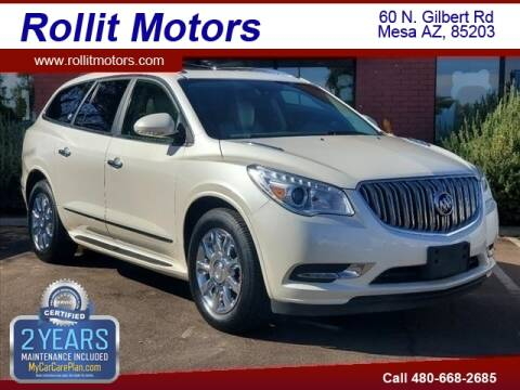 2015 Buick Enclave for sale at Rollit Motors in Mesa AZ