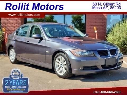 2006 BMW 3 Series for sale at Rollit Motors in Mesa AZ