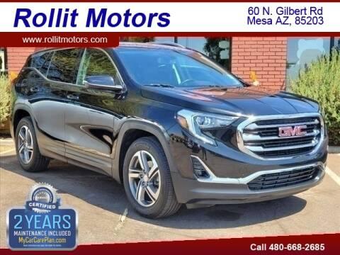 2019 GMC Terrain for sale at Rollit Motors in Mesa AZ