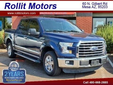 2015 Ford F-150 for sale at Rollit Motors in Mesa AZ