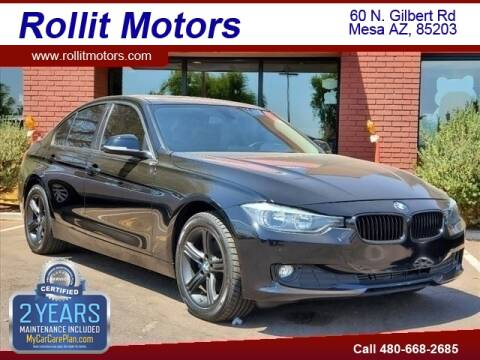 2015 BMW 3 Series for sale at Rollit Motors in Mesa AZ