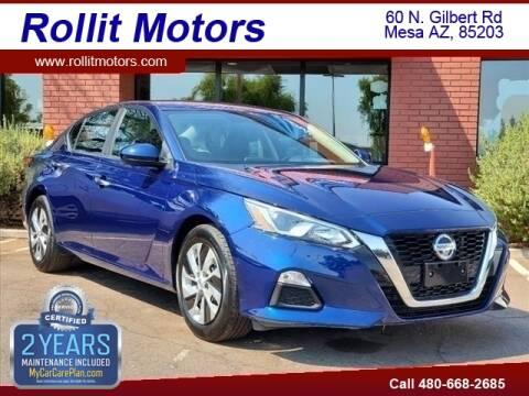 2020 Nissan Altima for sale at Rollit Motors in Mesa AZ