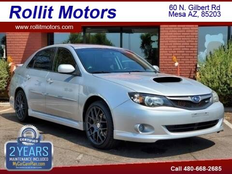 2009 Subaru Impreza for sale at Rollit Motors in Mesa AZ