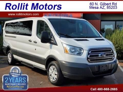 2017 Ford Transit Passenger for sale at Rollit Motors in Mesa AZ