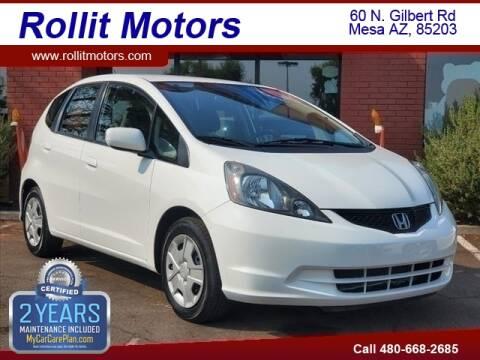 2013 Honda Fit for sale at Rollit Motors in Mesa AZ
