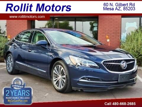 2017 Buick LaCrosse for sale at Rollit Motors in Mesa AZ