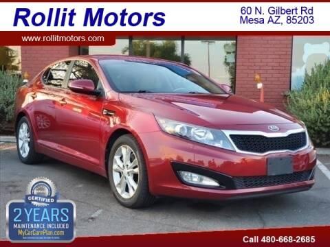 2013 Kia Optima for sale at Rollit Motors in Mesa AZ
