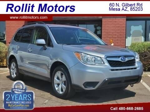 2015 Subaru Forester for sale at Rollit Motors in Mesa AZ