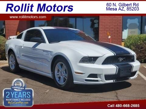 2014 Ford Mustang for sale at Rollit Motors in Mesa AZ