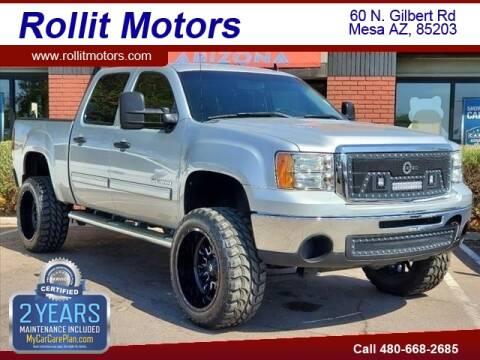 2011 GMC Sierra 1500 for sale at Rollit Motors in Mesa AZ