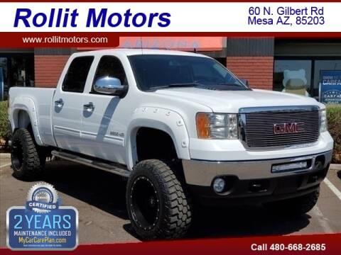 2011 GMC Sierra 2500HD for sale at Rollit Motors in Mesa AZ