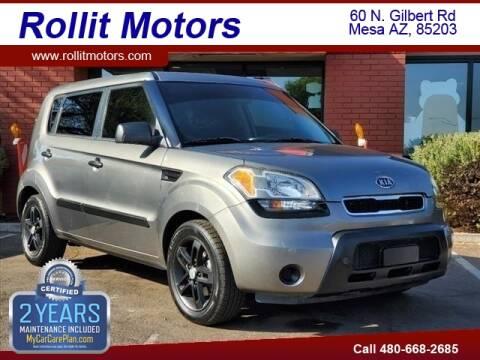 2011 Kia Soul for sale at Rollit Motors in Mesa AZ