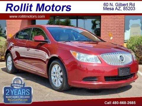 2010 Buick LaCrosse for sale at Rollit Motors in Mesa AZ