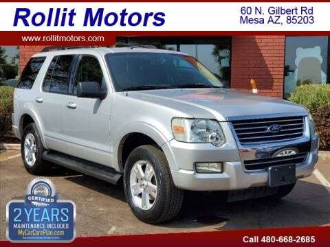 2009 Ford Explorer for sale at Rollit Motors in Mesa AZ