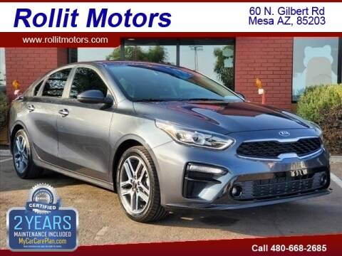 2019 Kia Forte for sale at Rollit Motors in Mesa AZ