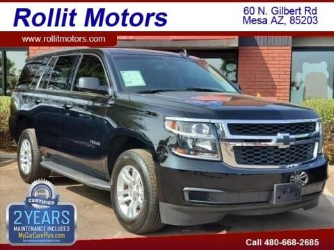 2017 Chevrolet Tahoe for sale at Rollit Motors in Mesa AZ