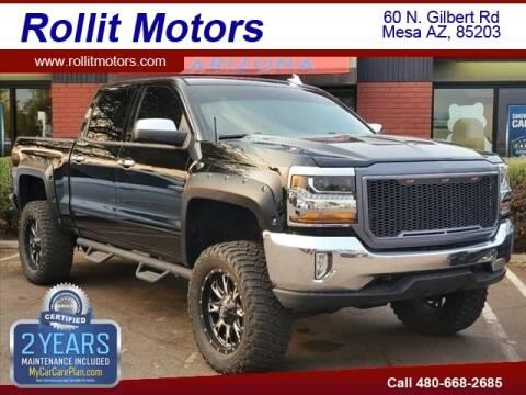 2016 Chevrolet Silverado 1500 for sale at Rollit Motors in Mesa AZ