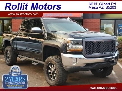 2016 Chevrolet Silverado 1500 for sale at Rollit Motors in Mesa AZ