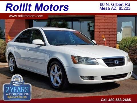 2007 Hyundai Sonata for sale at Rollit Motors in Mesa AZ