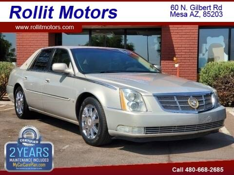 2008 Cadillac DTS for sale at Rollit Motors in Mesa AZ