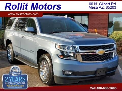 2016 Chevrolet Tahoe for sale at Rollit Motors in Mesa AZ