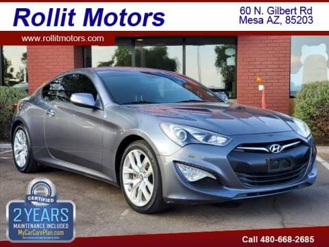 2015 Hyundai Genesis Coupe for sale at Rollit Motors in Mesa AZ