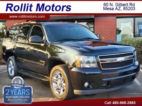 2013 Chevrolet Tahoe for sale at Rollit Motors in Mesa AZ