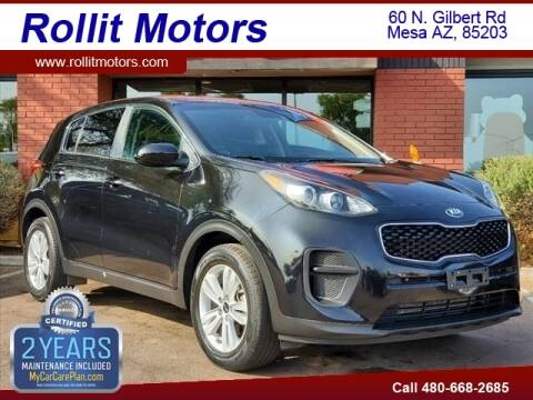 2018 Kia Sportage for sale at Rollit Motors in Mesa AZ
