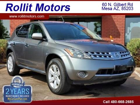 2007 Nissan Murano for sale at Rollit Motors in Mesa AZ