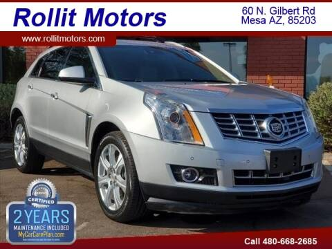 2015 Cadillac SRX for sale at Rollit Motors in Mesa AZ