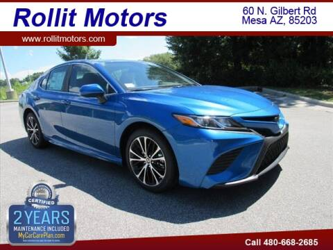 2020 Toyota Camry for sale at Rollit Motors in Mesa AZ