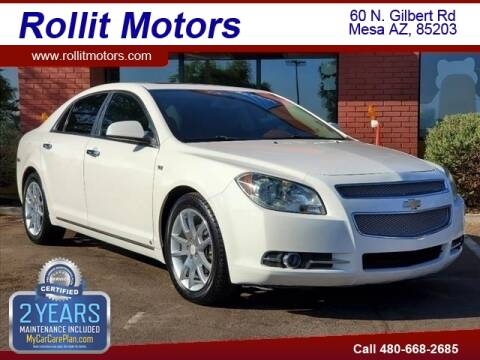 2008 Chevrolet Malibu for sale at Rollit Motors in Mesa AZ