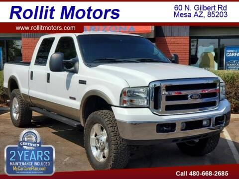2006 Ford F-350 Super Duty for sale at Rollit Motors in Mesa AZ
