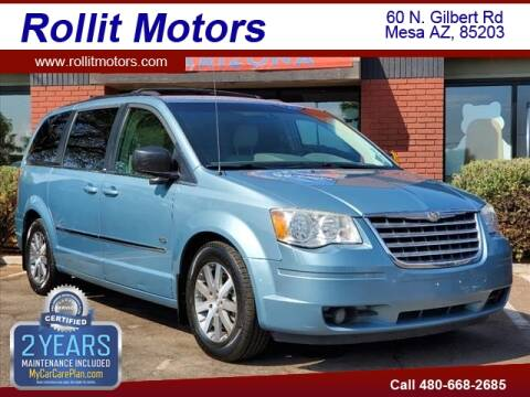 2009 Chrysler Town and Country for sale at Rollit Motors in Mesa AZ
