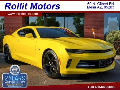 2016 Chevrolet Camaro for sale at Rollit Motors in Mesa AZ