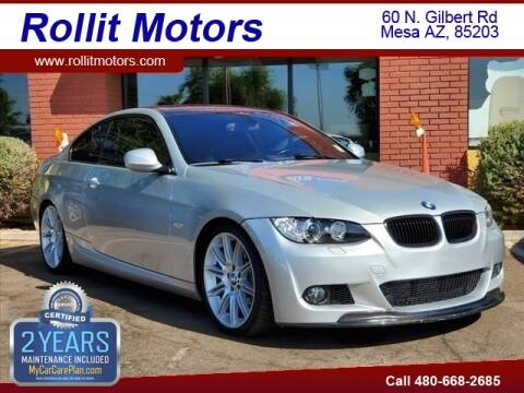 2010 BMW 3 Series for sale at Rollit Motors in Mesa AZ