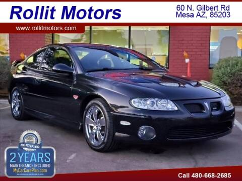 2004 Pontiac GTO for sale at Rollit Motors in Mesa AZ