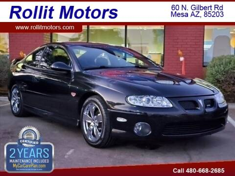 2004 Pontiac GTO for sale at Rollit Motors in Mesa AZ