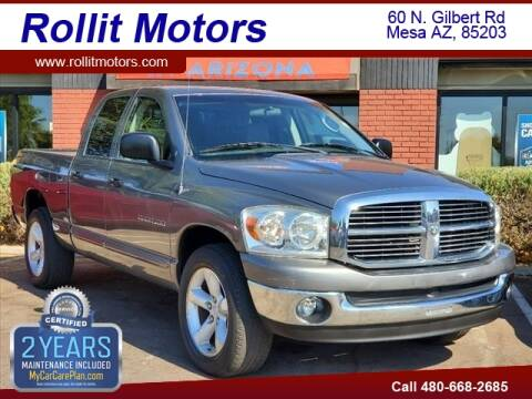 2007 Dodge Ram Pickup 1500 for sale at Rollit Motors in Mesa AZ