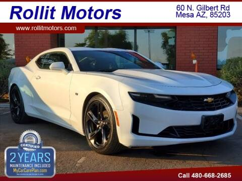 2020 Chevrolet Camaro for sale at Rollit Motors in Mesa AZ