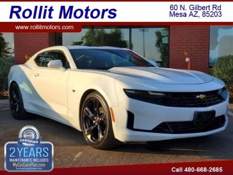 2020 Chevrolet Camaro for sale at Rollit Motors in Mesa AZ