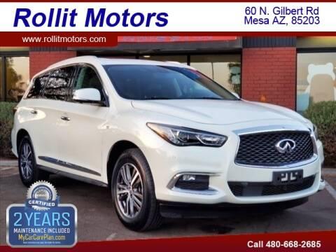 2017 Infiniti QX60 for sale at Rollit Motors in Mesa AZ
