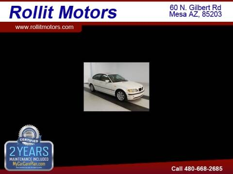 2005 BMW 3 Series for sale at Rollit Motors in Mesa AZ